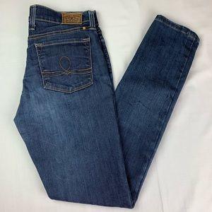 Lucky Brand Sofia Skinny Blue Jeans